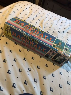 1989 Topps baseball card set for Sale in Lakeland, FL