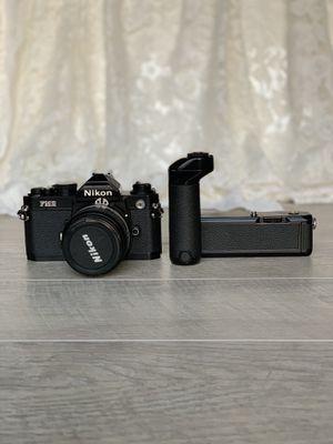 Nikon FM2N Black 35mm Film Camera for Sale in Aspen Hill, MD