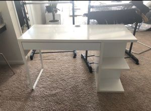 White IKEA Desk for Sale in Garner, NC