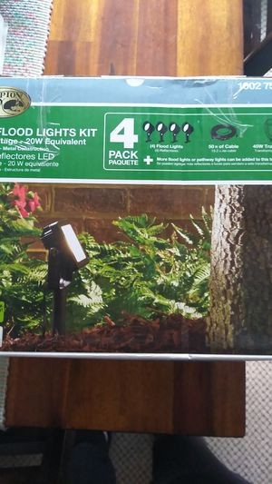 4 pack flood lights for sale for Sale in Roanoke, VA