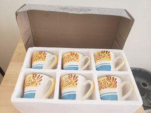 Set of 6 Tea Mugs for Sale in Bloomfield, NJ