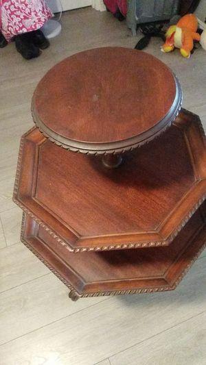 Antique 3 tier table for Sale in La Jolla, CA
