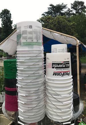 Plastic cans for Sale in Charlotte, NC