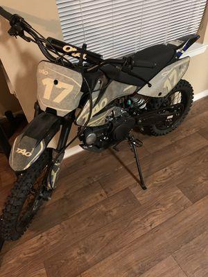 110 cc dirt bike Tao (Will include Bike Stand) for Sale in Arlington, TX