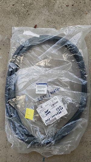 JEEP CHEROKEE 2019-2020 Rear Door Body Mounted Weatherstrip, for Sale in Bay Lake, FL