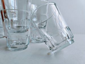 Barrel Bottomed Shot Glass Set for Sale in Raleigh, NC