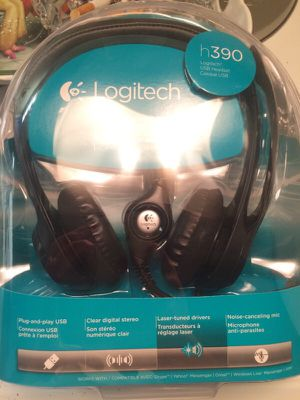 Logitech headphones for Sale in Edgewater, MD