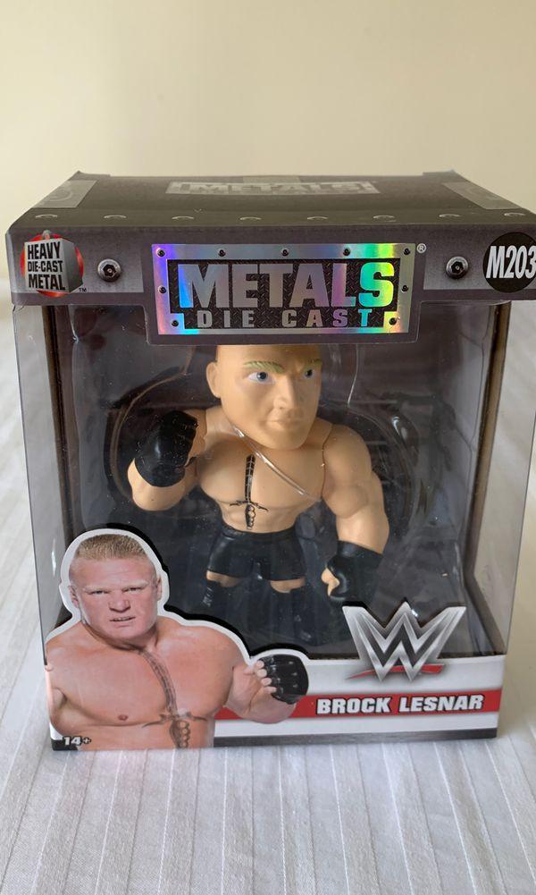 Die Cast Metals Brock Lesnar action figure