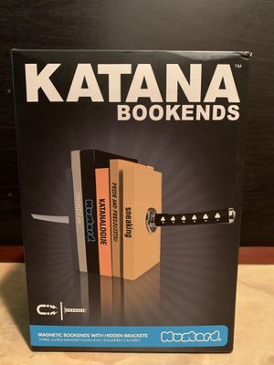 Magnetic katana bookends for Sale in Spokane, WA
