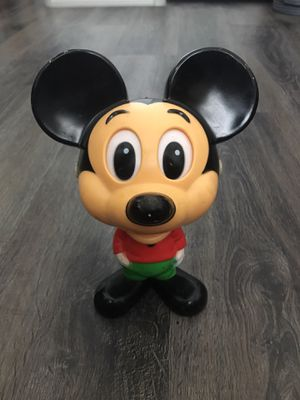 Vintage Walt Disney Mickey Mouse Talking Action Figure Pull String Walt Disney for Sale in Peoria, AZ