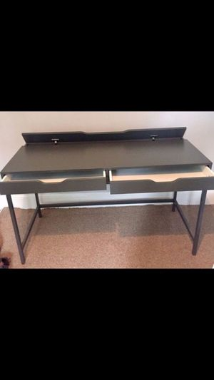 IKEA gray grey Alex office computer desk for Sale in Alameda, CA