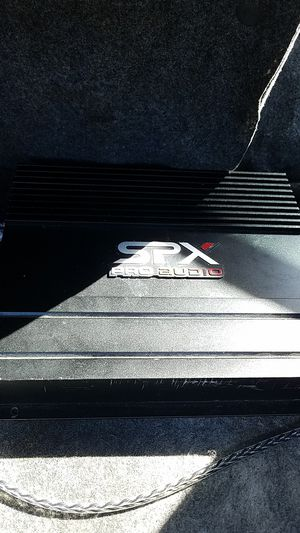 Spx pro audio amp for Sale in Palm Beach Gardens, FL