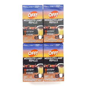 4 Off! Mosquito Repellent Lamp Refills New for Sale in Tampa, FL