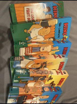 King of the hill DVD set seasons 1-6 for Sale in Bakersfield, CA