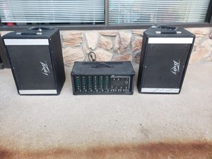 Peavey PA system speakers for Sale in Lexington, KY