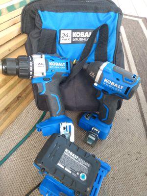 Kolbalt 2-tool 24 volt max brushless power tool combo for Sale in Hanover, PA