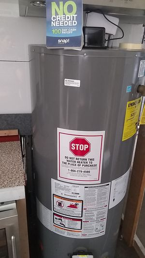 Rheem water heater performance platinum 🆕‼️ promo price includes installation of 50 gallons water heater 🆕‼️ for Sale in Buena Park, CA
