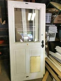 Storm Door with Doggie Door for Sale in Frederick, MD