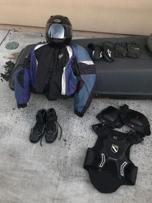 Complete motorcycle gear set. Best for man around 6ft. for Sale in Cupertino, CA