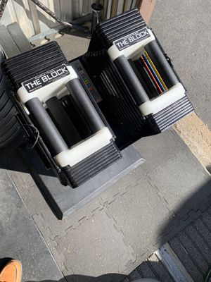 Powerblocks 5lbs-45lb w/ stand for Sale in Parker, CO