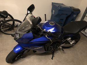 CBR650F 2014 Honda Motorcycle for Sale in Ashburn, VA