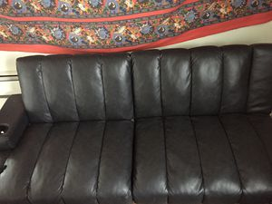 Brand new leather futon for Sale in Manchester, NH