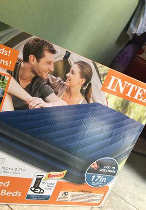 Intex Queen Size Inflatable Bed for Sale in Woodbridge, VA