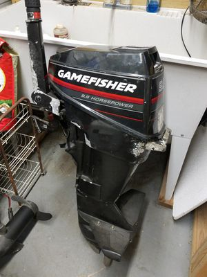 Game fisher 9.9 outboard motor for Sale in Orlando, FL