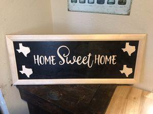 Custom scroll sale wood art for Sale in Richland Hills, TX