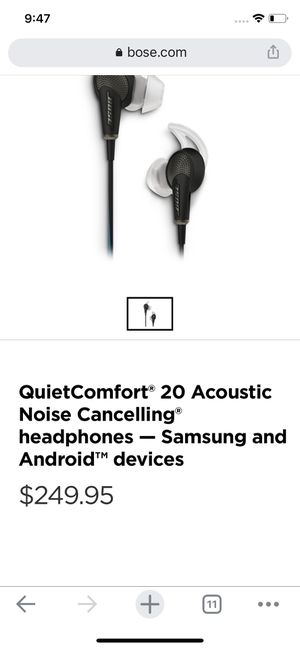 Bose noise cancellation earbuds for Sale in Fresno, CA