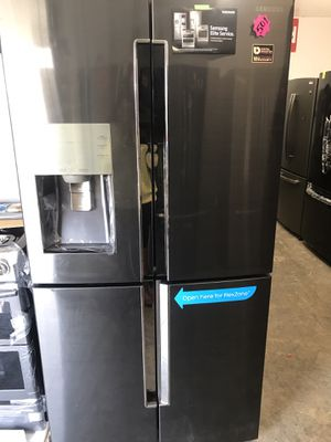 Samsung Black Stainless Steel Refrigerator, Stove, Dishwasher Set!!!!! for Sale in Los Angeles, CA