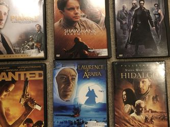 DVDs The Pianist, Shawshank Redemption, Matrix, Wanted, Lawrence Of Arabia , Hidalgo for Sale in Issaquah,  WA