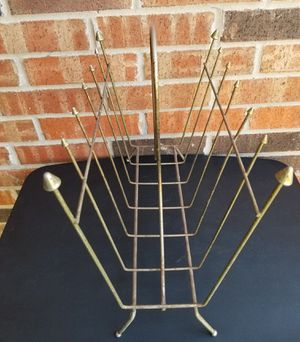Vtg Magazine / Record / Towel Rack w/Arrow Points for Sale in Fort Worth, TX