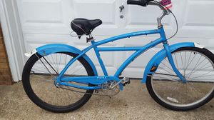 Fuji Shangri la mens 3 speed beach cruiser aluminum long frame for Sale in Chesapeake, VA