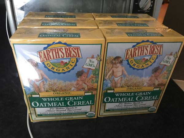 Baby whole grain organic cereal