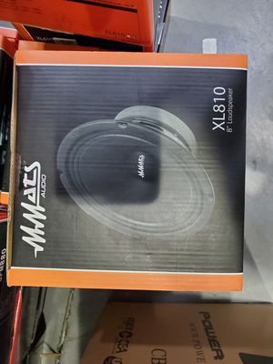 Mmats xl810 8 inch loudspeaker mid pro audio super cheap new for Sale in Hialeah, FL
