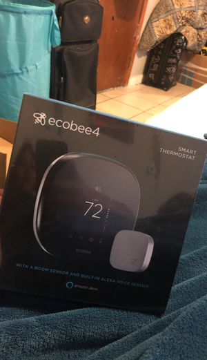 Ecobee4 Smart Thermostat with Alexa for Sale in Houston, TX