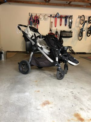 Baby Jogger City Select Double Stroller for Sale in Mercer Island, WA