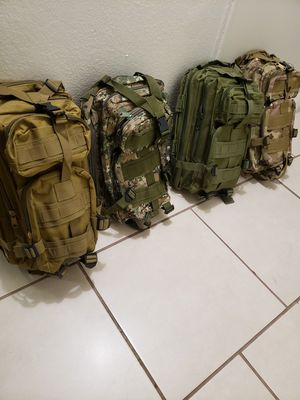 Small tactical backpack for Sale in Glendale, AZ