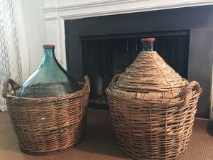 Huge wine bottles for Sale in Fairfax, VA