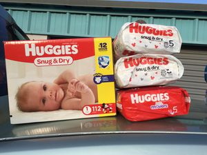 huggies diapers and other brands pull ups for good deal!!! for Sale in Phoenix, AZ