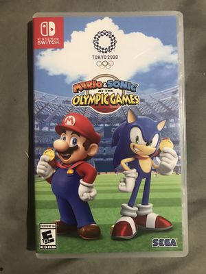 Mario Sonic Olympic Tokyo for Sale in College Park, MD