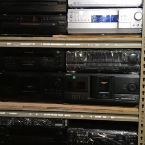 Rack Full Of Tested And Working Stereo Receivers. for Sale in Anaheim, CA