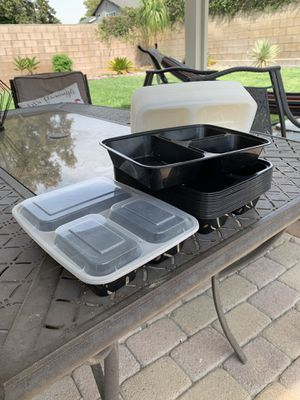 18 meal prep containers for Sale in Chino, CA