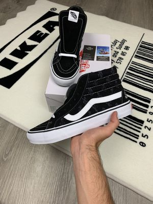 Supreme Sk8-Hi Vans Hole Punch for Sale in Springfield, VA