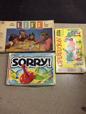 Kids board games all for one price for Sale in Parkland, FL