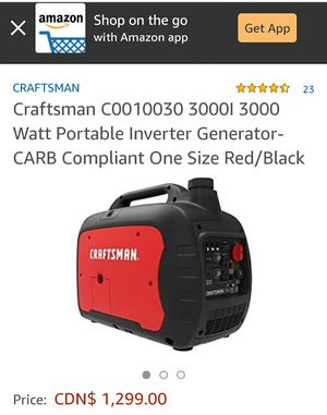 Craftsman generator for Sale in Cleveland, OH