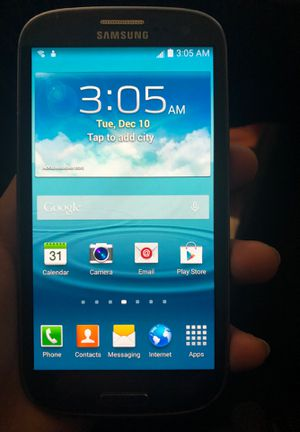 SAMSUNG GALAXY 3 for Sale in Nottingham, MD