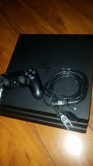 PS4 PRO with controller and all wires & call of duty for Sale in Los Angeles, CA