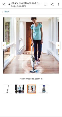 Shark pro steam mop for Sale in Des Moines,  WA